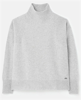 Picture of Joules Knitwear Halton Turtle Neck Grey Marl