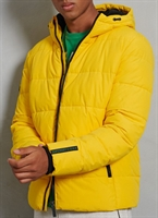 Picture of Superdry Jacket Sports Puffer Yellow