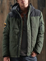 Picture of Superdry Jacket Quilted Everest Army Khaki