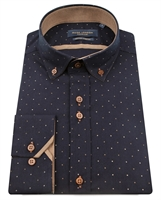 Picture of Guide London Shirt LS75801 Navy