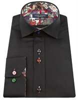 Picture of Guide London Shirt LS75815 Black