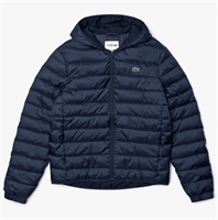 Picture of Lacoste Jacket Sport Hooded Quilted Jacket Navy Blue