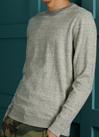Picture of Superdry Knitwear Orange Label Crew Shale Feeder