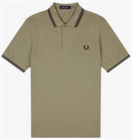 Picture of Fred Perry Polo Shirt M3600 Sage