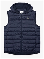 Picture of Lacoste Gilet Hooded Quilted Vest Navy Blue
