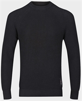 Picture of Luke 1977 Knitwear Plated Solid Black