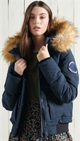 Picture of Superdry Ladies Jacket Everest Bomber Eclipse Navy