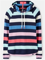 Picture of Joules Hoody Marlston French Navy Multi Stripe