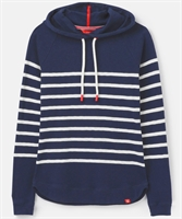 Picture of Joules Hoody Marlston French Navy Cream Stripe