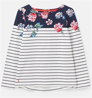 Picture of Joules Top Harbour Floral Border Stripe