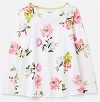 Picture of Joules Top Harbour Light Swing Cream Floral