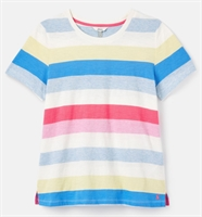 Picture of Joules T-Shirt Carley Cream Stripe