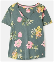 Picture of Joules T-Shirt Celina Green Floral