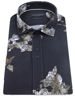 Picture of Guide London Shirt HS2584 Navy