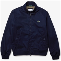 Picture of Lacoste Jacket Water-Resistant Cotton Navy Blue