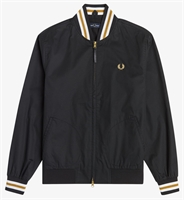 Picture of Fred Perry Jacket Tennis Bomber Black