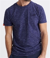 Picture of Superdry T-Shirt Orange Label Vintage Embroidered Mariner Navy Space Dye