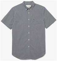 Picture of Lacoste Shirt Regular Fit Gingham White/Navy 522