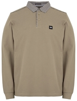 Picture of Weekend Offender Long Sleeve Polo Shirt Tavarez Porcino