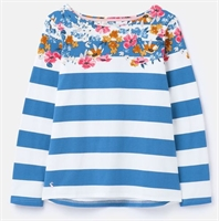 Picture of Joules Top Harbour Meadow Border Stripe